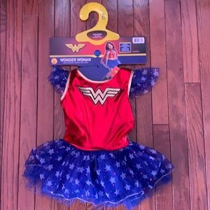 Kids wonderwoman costume